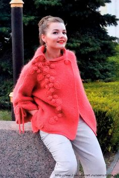top journals com by - issuu Crochet Jacket, Knit Crochet, Angora Sweater, Journal, Pullover, Jackets, Knitting Sweaters, Vests, Tops