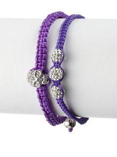 52% OFF Rolf Bleu Violet Duet Bracelet Set