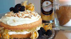 Eierlikör Rezept: naked-cake mit Äpfeln und Verpoorten Original Eierlikör - Backrezepte - Verpoorten