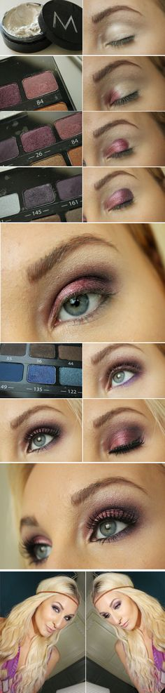 Tutorial: Bohemian. Full tutorial on http://blogg.veckorevyn.com/hiilen/2012/06/21/bohemian-makeup-tutorial/