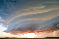Severe weather- severe thunderstorm near Mullen, Nebraska Aug. 2011
