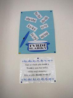 ČJ - tvrdé slabiky Language, Classroom, Notes, Learning, School, Literatura, Autism, Class Room, Report Cards