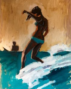 #surfart #surfing #surfdecor #waveart