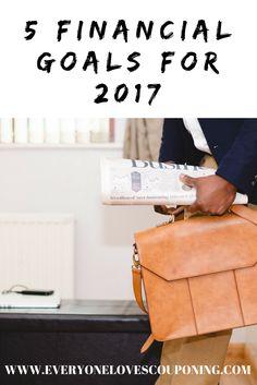 5 Financial Goals for 2017