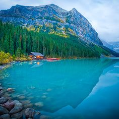 Lake Louise, Banff National Park, Alta. Canada