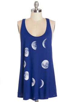 Never Phased Tank. This is one tank youll never want to phase out of your wardrobe! #blue #modcloth