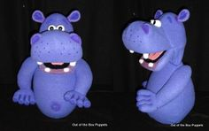 Hippo Puppet - Out of the Box Puppets