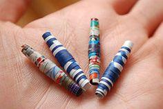 Make Paper Beads Tutorial