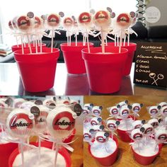 Logo Cake Pops für Lohner-Werke!