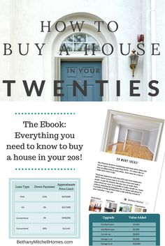 Bethany Mitchell Homes: How to Buy A House in Your Twenties FREE Ebook