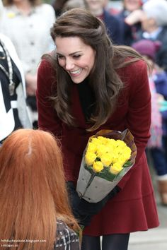 hrhduchesskate:  Visit to Action for Children Charities, Wales, February 22, 2017-Duchess of Cambridge
