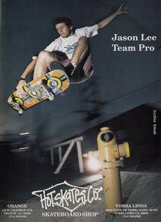 Jason Lee by Spike Jones. TWS, January 1992.