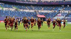 ¡Llegan los héroes! Vinotinto Sub-20 será recibida este martes #Deportes #Fútbol