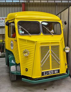HY Citroen Type H, Citroen H Van, Retro Cars, Vintage Cars, Antique Cars, Food Vans, Alfa Romeo Cars, Cool Trucks, Sport Cars