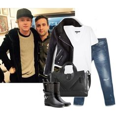 Rugby match in London with Niall - Polyvore