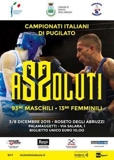 Roseto. Arrivano i Campionati Italiani assoluti di Boxe (3-8 dicembre Palasport)