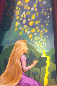 Tangled.... Dreaming of lanterns....