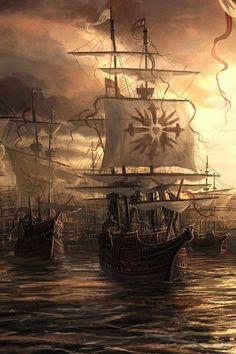 Old Ship..........   ................................♥...Nims...♥