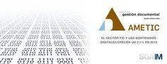 Según #AMETIC el sector #TIC y los contenidos digitales crecen un 2,1% en 2014. El mercado español de las TIC y los contenidos digitales experimentó un incremento del 2,1% en el 2014, alcanzando, aproximadamente, una cifra de negocio de 86.000 M€, lo que supone el primer cambio de tendencia tras haber caído un 18% en el periodo 2008-2013. No obstante, las telecomunicaciones y electrónica de consumo continúan en recesión.