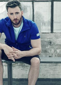 """pietrosmaximoft: """" Chris Evans for FILA RED Campaign Posters """""""