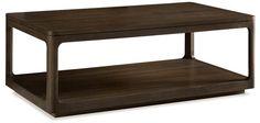 "Messina Rectdangular Coffee Table Messina Rectangular Coffee Table SKU # ME-506 50""w x 28""d x 18""h Finish: Smokey Brown"