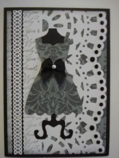 My favourite Stampin Up dress die yet again.