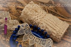 LOOM KNIT WRIST WARMERS. Free Pattern for victorian inspired fingerless mittens. #loomknitwristwarmers #loomknitfingerlessmittens #freeloomknittingpatterns