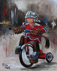 Résultats de recherche d'images pour «michel sauve artiste peintre/IMAGES» Oeuvre D'art, Oeuvres, Christian Art, Nhl, Cool Kids, Captain America, Art For Kids, Hockey, Little Girls