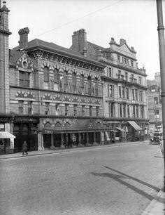 Facade of Aberdeen's Tivoli Theatre on Guild Street, early 1930s