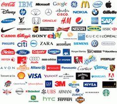 What Do World's Top Brand's Logo Designs Have In Common? Kfc, Business Branding, Logo Branding, Marketing Branding, Business Marketing, Business Cards, Digital Communication, Future Logo, Best Office
