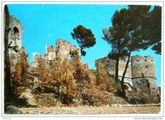 Pescara - POPOLI - Ruderi del castello del duca Cantelmo viaggiata