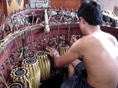 This is so the kind of thing I LOVE- Burmese percussion- beautiful sound!