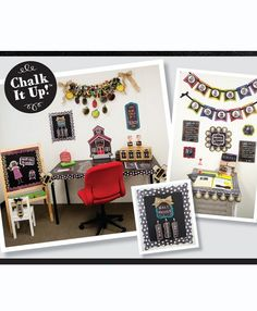 Get all of your Back-to-School chalkboard classroom ideas on the Chalk It Up! Chalkboard Classroom, School Chalkboard, Classroom Decor, End Of School Year, Back To School, Lg Display, Creative Teaching Press, Chalk It Up, Gallery Wall