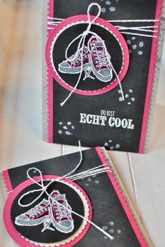 Stempel Dich bunt, Petra Rosenbaum, Stampin' Up!, Echt Cool, Kreidetafel, Chalk Board