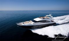The 72 Motor Yacht perfectly combines the elegance and stature of a true motor yacht with an agile class leading performance. Her deep-V hull is resin infused for weight reducing efficiency and raised bulwarks create clean flowing lines along her sleek profile. Book now. #LuxuryConcierge #ExclusiveServices #TailoredMadeServices #Luxury #Concierge #Elegance #VIPTransfers #LuxuryLifestyle
