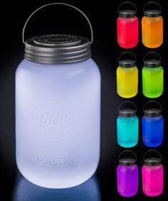 Mason Jar LED Lamp