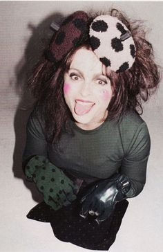 Helena Bonham Carter for Marc Jacobs by Juergen Teller
