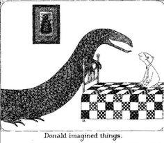 Edward Gorey  Donald Imagined things