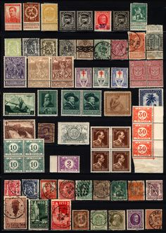 Belgium 1894-1943 M&U Collection Blocks, Pairs Fresh 52 items