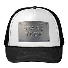 STAGE TECH Cap - Metal Plate Design.