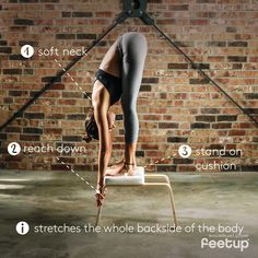 FeetUp® the Inversions Trainer for Yoga, Fitness and Relaxation Yoga Inversions, Yoga Sequences, Pilates, Yoga Trainer, Workout To Lose Weight Fast, Yoga Props, Yoga Posen, Advanced Yoga, Improve Mental Health