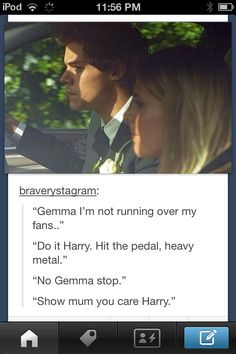 """There's nothing I can say except that Gemma should have said """"Just run over the crazy mofos harold!"""""""