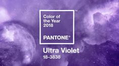 Pantone announces Ultra Violet as Their 2018 Colour of the Year | Daniel Swanick