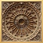 New Stained Glass Windows Made from Stacked Laser-Cut Paper by Eric Standley