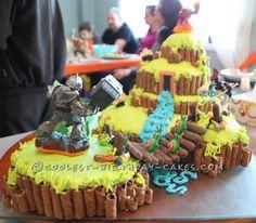 Skylanders cake for Asa's 6th birthday