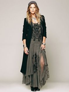 Even though a bit Boho, I'd wear this any day