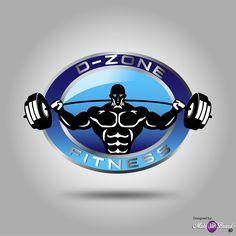 Logo Design of D-Zone Fitness  #logo #design