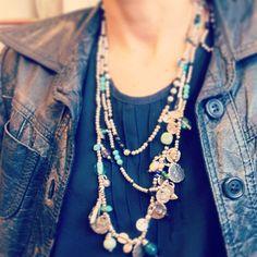 "¿Te gustan los detalles del collar ""buceadora""?/ Do you like the details of our ""buceadora"" necklace?"