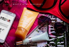 Find out what's inside my #beach #bag! The answer is up on The Coco Question. #summer #essentials