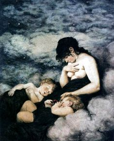Hans Thoma - Night